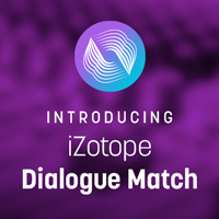 iZotope Dialogue Match for Pro Tools